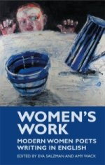 Book cover of Womens Work that features a poem by Carol Rumens